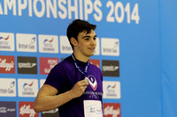 Men's Open 100m Butterfly - Medal 002