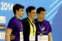 Men's Open 100m Butterfly - Medal 003