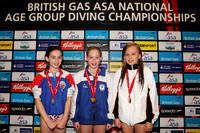 Girls B 1m  Medallists 001