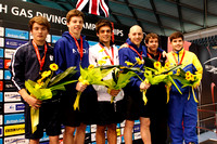 Men's 3m Synchro - Medallists