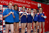 Girls 8-13 1m Synchro - Medals