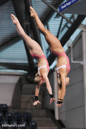 Women's 10m Synchro - Couch & Barrow 009