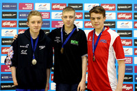 2014 Youth Medallists - Men's 400m Freestyle F003
