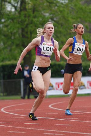 Louise Bloor athletics