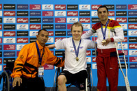 2014 Medallists - Men's 50m Backstroke F003