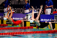Women's 50m Backstroke 018